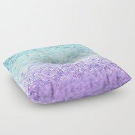 MERMAIDIANS AQUA PURPLE Floor Pillow