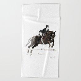 Horse (Jumper II) Beach Towel