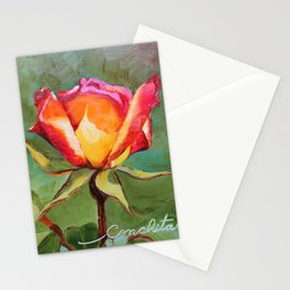 """""""Lonely Rose #1"""" Stationery Cards"""