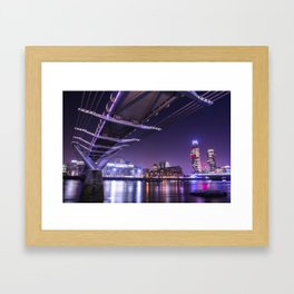 Millennium Bridge Framed Art Print