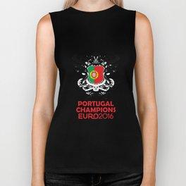 Portugal Champions Uefa Euro 2016 Biker Tank