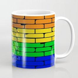 Rainbow Wall Maine Coffee Mug