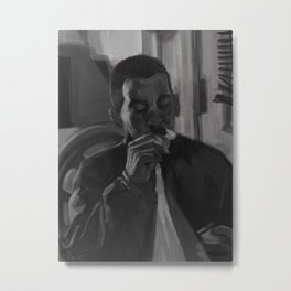 Everybody Gotta Die Some Day Metal Print