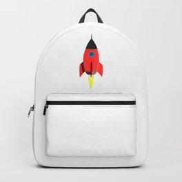 Red Rocket Blast Off Backpack