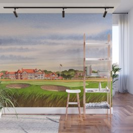 Royal Liverpool Golf Course 18th Hole Wall Mural