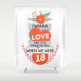 18 Shower Curtain