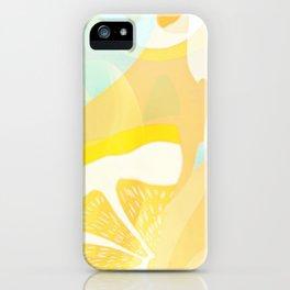 Lemon Meringue Melted Ice Cream  iPhone Case