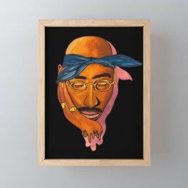 T. Shakur Framed Mini Art Print