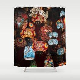 Turkish lanterns Shower Curtain