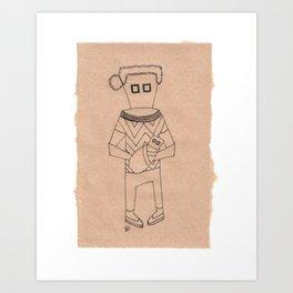 V || SquareEyes Art Print
