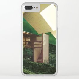 Natural Living 2 Clear iPhone Case