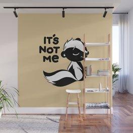 The innocence of skunks Wall Mural