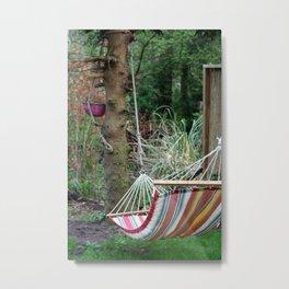 hammock Metal Print