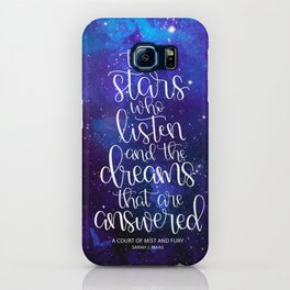 To the Stars who Listen iPhone Case