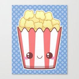 Popcorn! Canvas Print