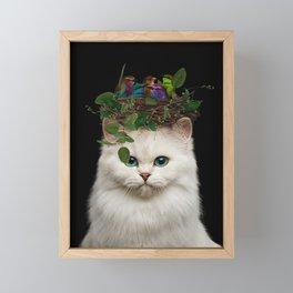 make beautiful things... even if nobody cares. Framed Mini Art Print