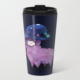 Witch Alpaca Metal Travel Mug