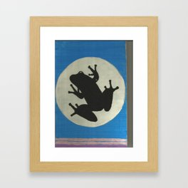 Rainforest Frog Framed Art Print
