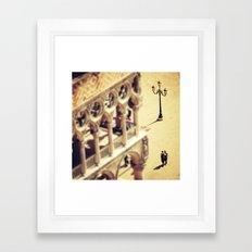 Lovers Venice Italy Travel Photography Framed Art Print