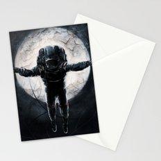 Lunar Figure  Stationery Cards