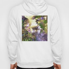 Floral fractals mixed reality Hoody