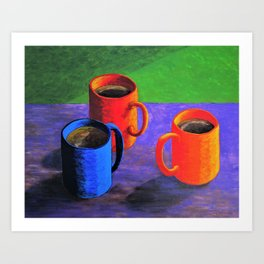 Morning Cup of Coffee Art Print
