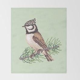 Bird 3 Throw Blanket