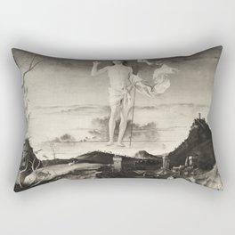 The Ascension. Bellini. Rectangular Pillow