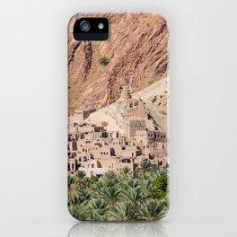 Abandoned Village - Oman iPhone Case