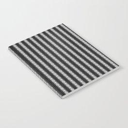 Abstract Tribal Zebra Pattern Notebook