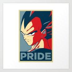 Vegeta's Pride Art Print
