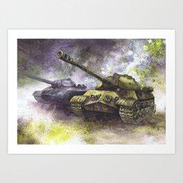 IS-3 Tanks Art Print