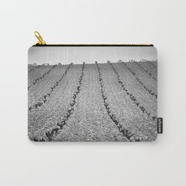 Vineyards. Foggy Sunrise Carry-All Pouch