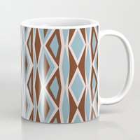 diamonds Mugs featuring Diamonds by ghennah