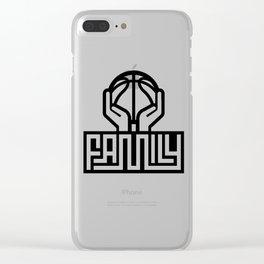 Basketball Family # Ballislife Clear iPhone Case
