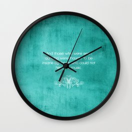 quoted  Wall Clock