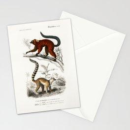 Lemurs Stationery Cards