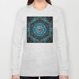 """Om Namah Shivaya"" Mantra- The True Identity- Your self Long Sleeve T-shirt"