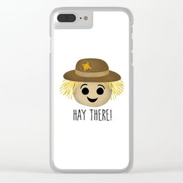Hay There! Clear iPhone Case