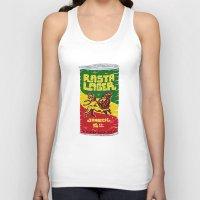 rasta Tank Tops featuring Rasta Lager by Moto