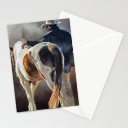 Cowboy Blues Stationery Cards