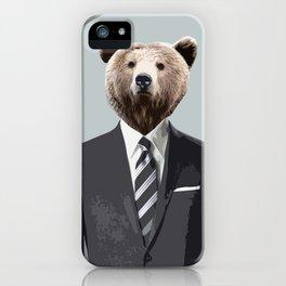 Bear Suit iPhone Case