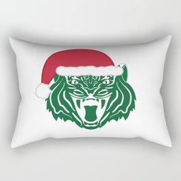 Christmas Tiger Rectangular Pillow