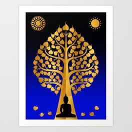 Bodhi Tree0403 Art Print