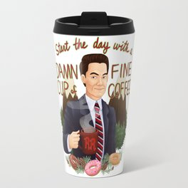 Start the Day With a Damn Fine Cup of Coffee Travel Mug