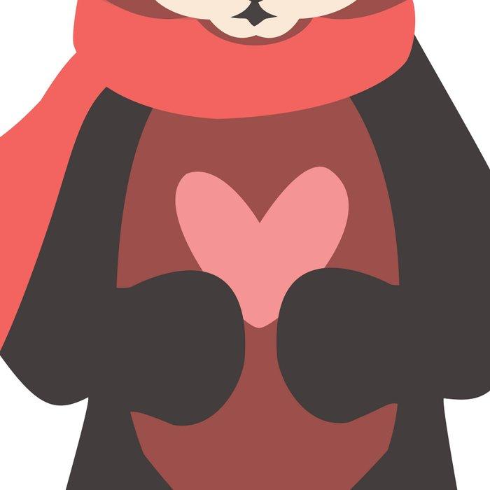 Red Panda Leggings