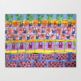Dreaming of a New Handbag   Canvas Print