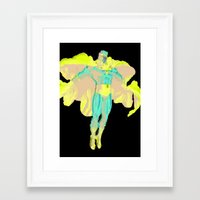 magneto Framed Art Prints featuring MAGNETO by MattCridland