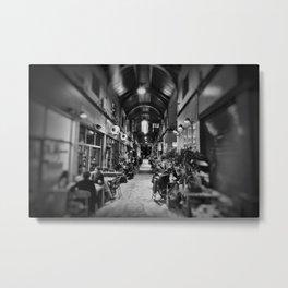 Inside Brixton Village. Metal Print