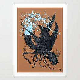 Bestiary / Adze Art Print